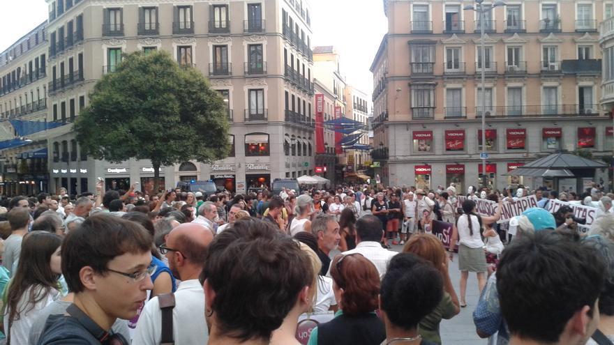 Concentración Madrid contra Decreto Ley sanitario