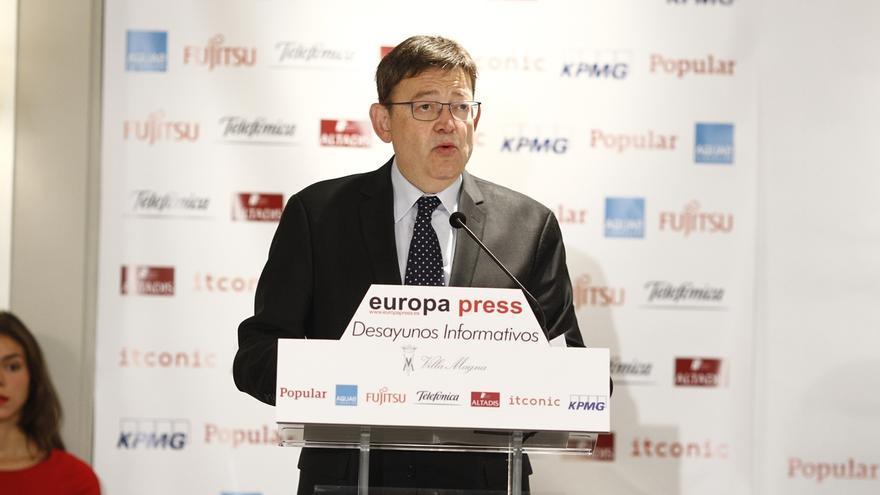 Puig insiste en la necesidad de un nuevo modelo de financiación y aboga por la corresponsabilidad fiscal