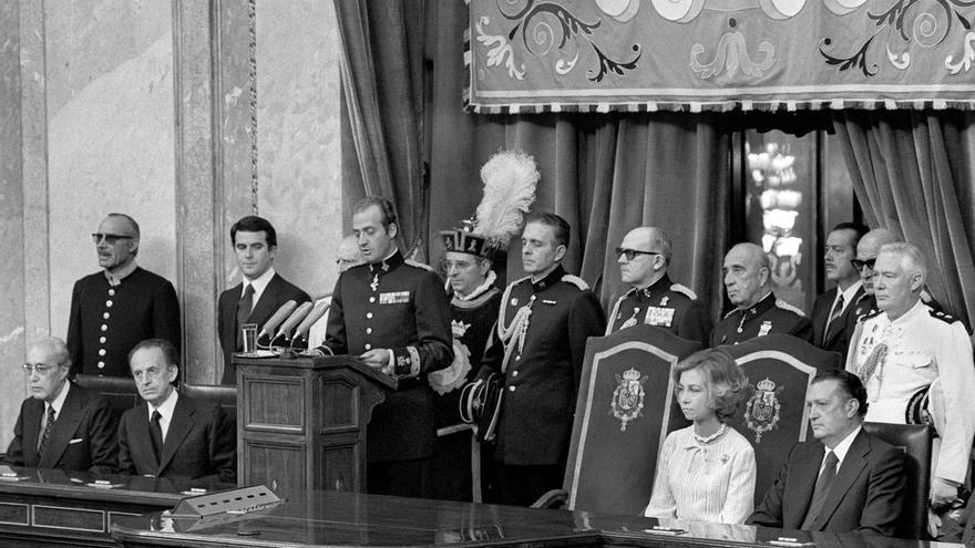La persona de D. Juan Carlos de Borbón y la institución monárquica