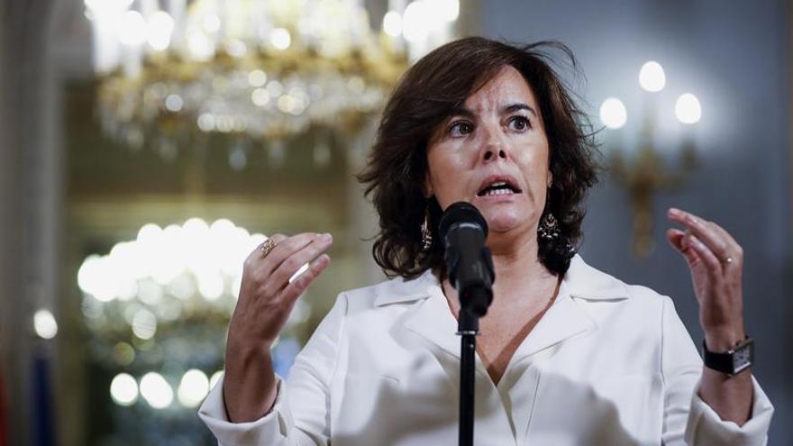 S.Santamaría:Sánchez e Iglesias sólo despiertan cuando se habla de corrupción
