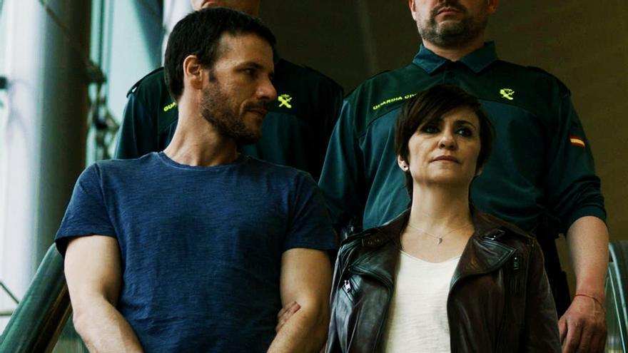 Daniel Grao y Melani Olivares en 'Perdida'