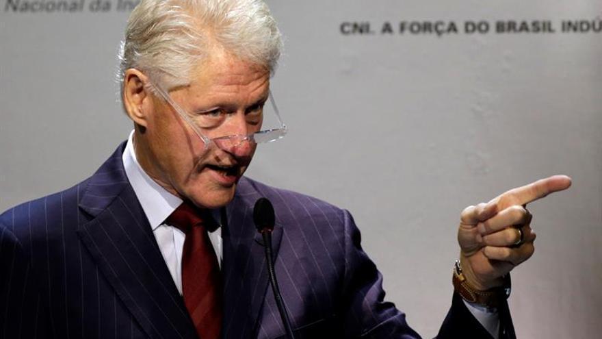 Bill Clinton apoya a Kaine como candidato a Vicepresidencia demócrata