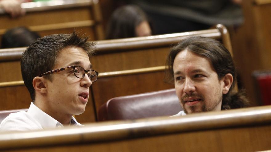 """Pablo Iglesias dice que PP, PSOE y Ciudadanos usan la Constitución como un """"búnker"""""""