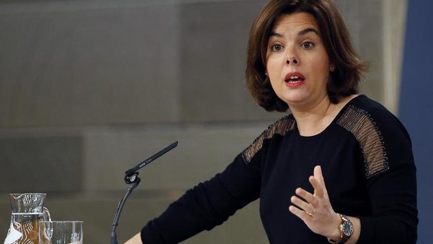 El Gobierno explica sus reuniones en el exterior en la respuesta al soberanismo