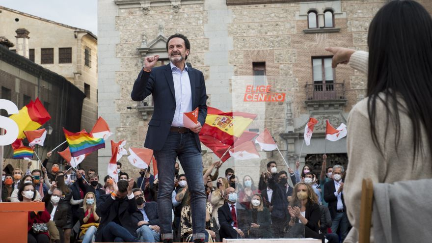 """Bal (Cs) augura que estará en el Gobierno de Madrid tras campaña """"elegante"""""""
