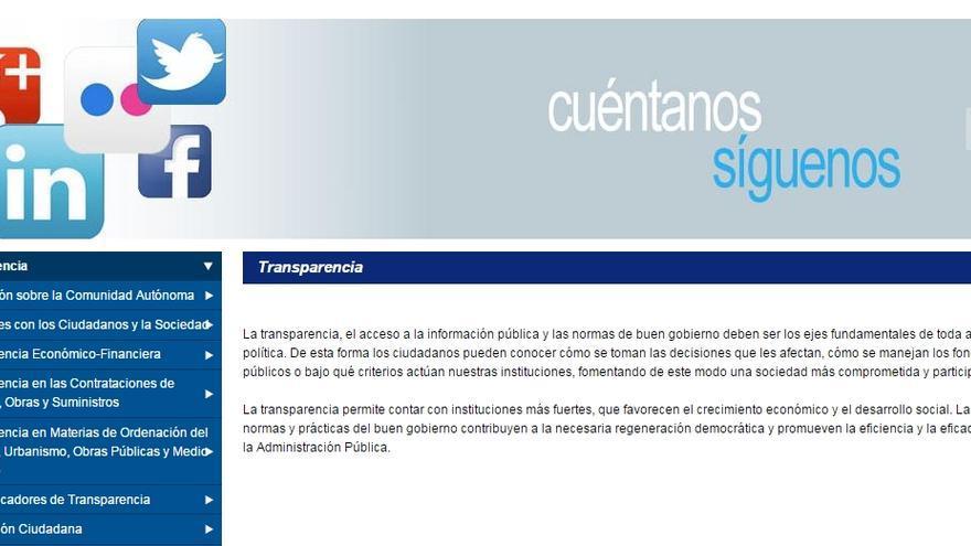 Portal de Transparencia de Castilla-La Mancha
