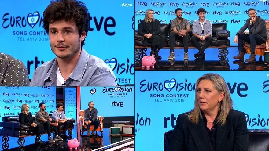 Primera rueda de prensa de TVE para Eurovisión 2019