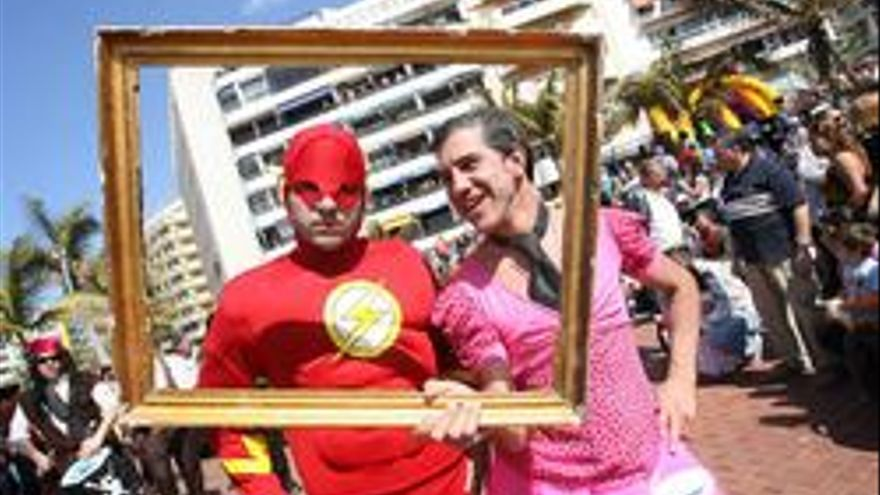 Imagen del carnaval de 2009 en Las Palmas de Gran Canaria.
