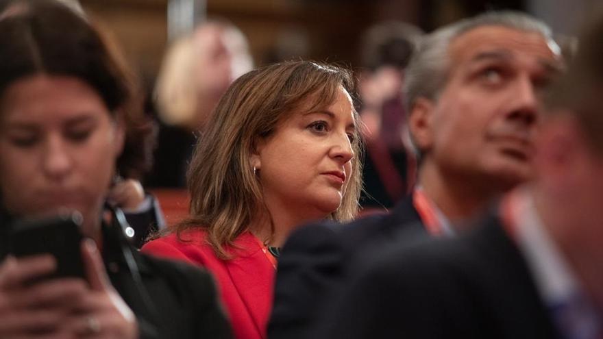 Iratxe García, elegida vicepresidenta primera de los Socialistas Europeos