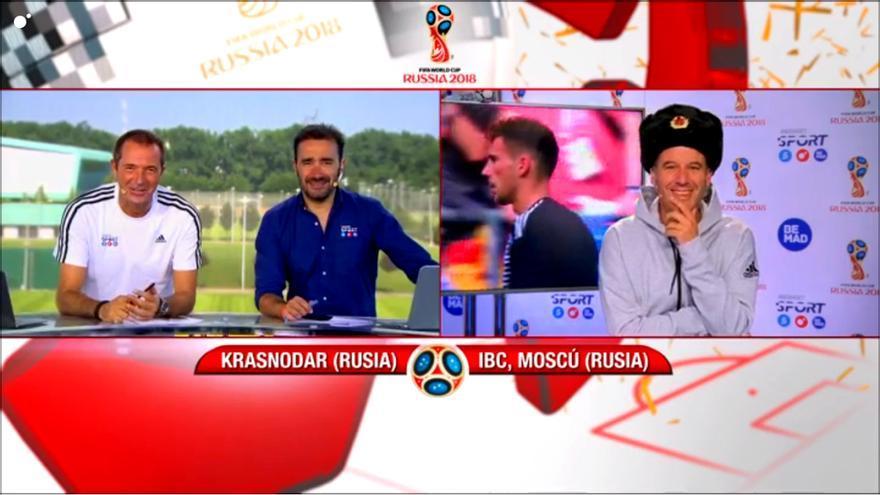 """Tarjeta amarilla para Nico Abad, que """"elimina"""" por error a Dinamarca del Mundial"""