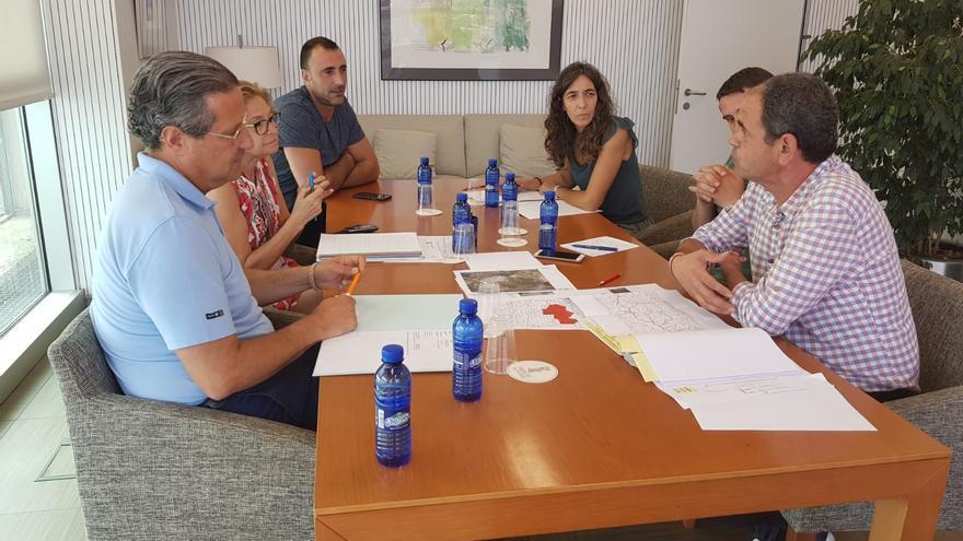 Imagen de la reunión que tuvo lugar el sábado en Barxeta