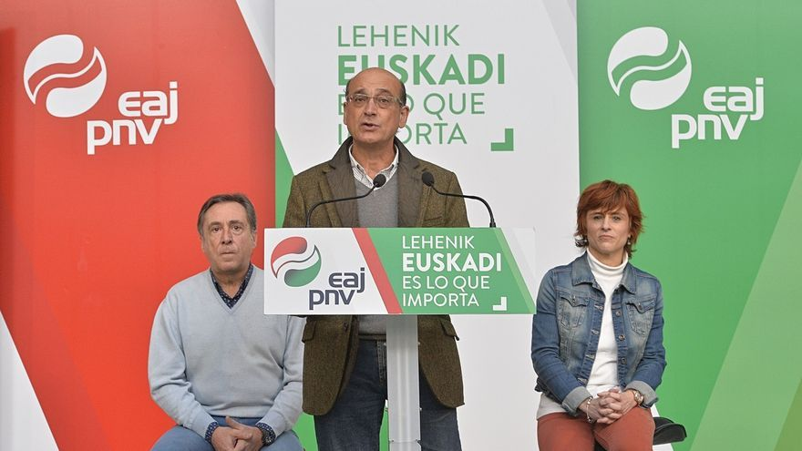 """PNV no admitirá """"más demoras"""" en el TAV porque el Gobierno central ha dejado a Euskadi """"a la cola"""""""