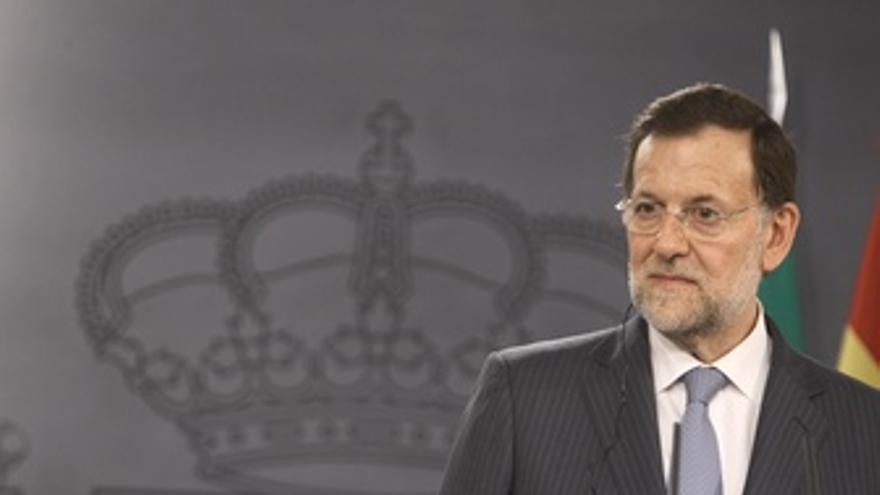 Mariano Rajoy en Moncloa