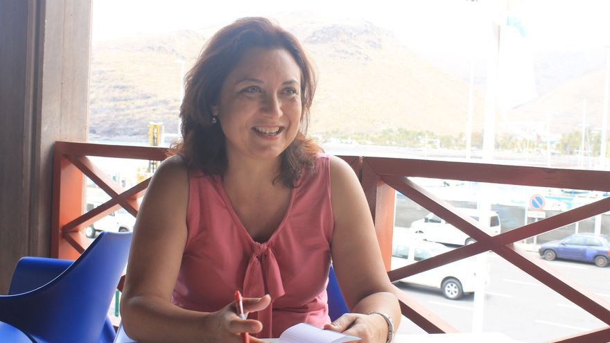 Ventura del Carmen Rodríguez durante la entrevista