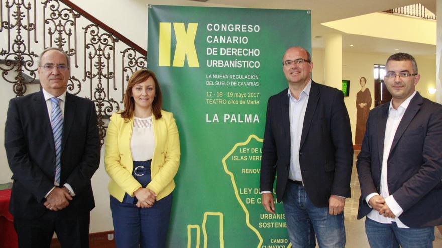Acto inaugural del IX Congreso Canario de Derecho Urbanístico.