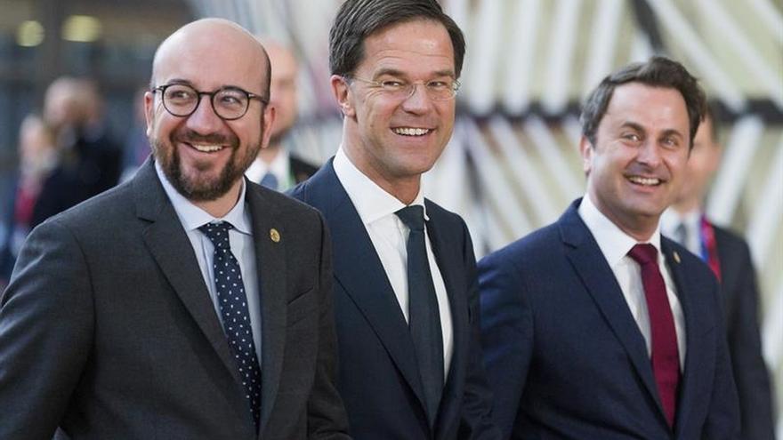 Los líderes del Benelux celebran una reunión a tres sobre el futuro de la UE