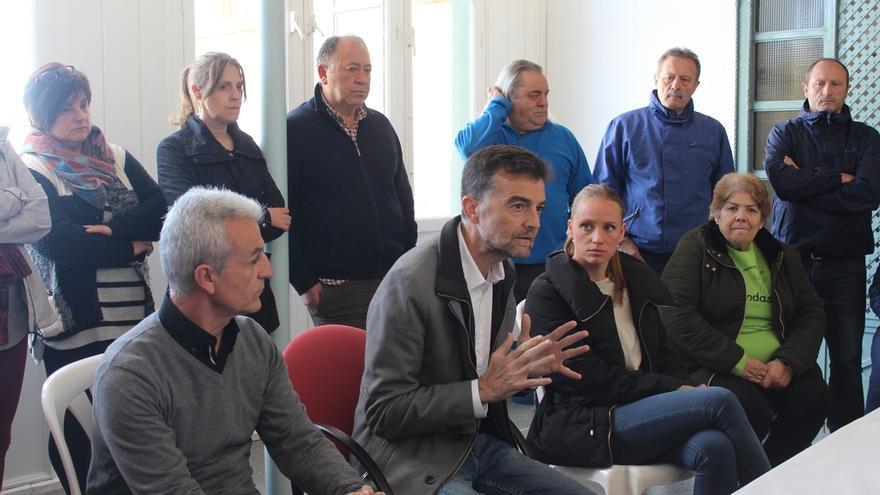 Maíllo pide al Gobierno que califique como zona catastrófica los pueblos afectados por las inundaciones