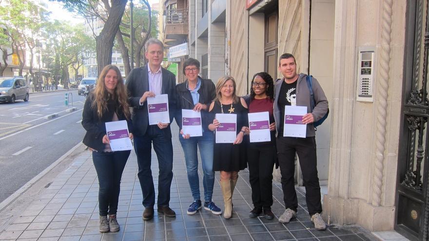 La senadora Pilar Lima optará a la Secretaría General de Podemos en la Comunidad Valenciana con 'Obrint Podem'