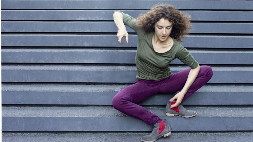 En la imagen, la bailarina Teresa Lorenzo.