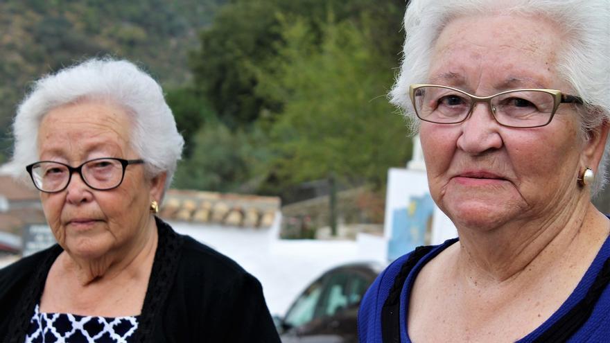 Ana y María Sarmiento, víctimas del terrorismo de Franco. | JUAN MIGUEL BAQUERO