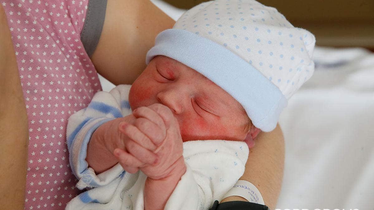 Un bebé recién nacido | MADERO CUBERO