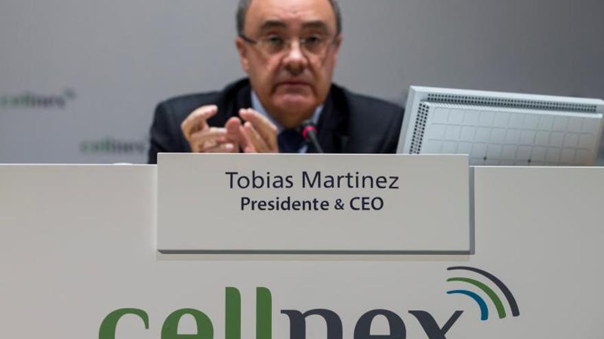 El presidente y consejero delegado de Cellnex, Tobías Martínez.