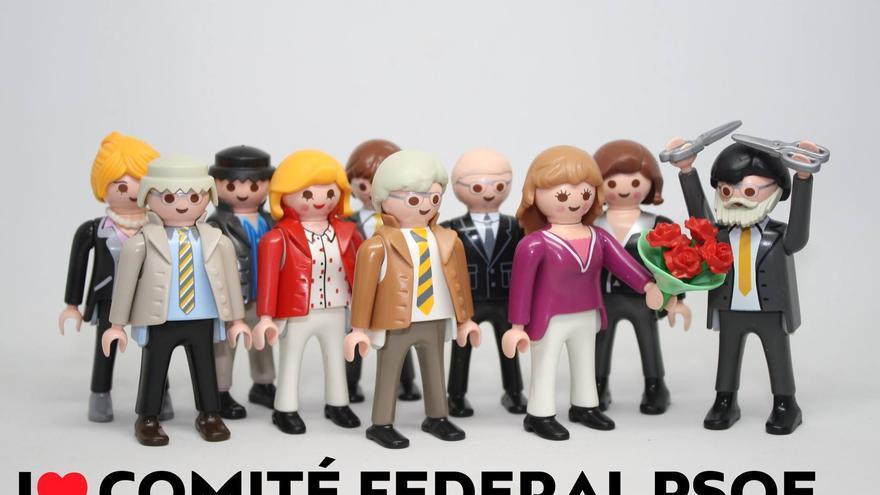 I love Comité Federal PSOE