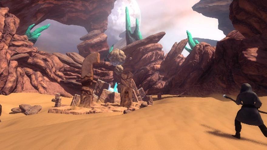 Los pantallazos de CodeSpells tienen la apariencia que podría tener cualquier otro videojuego comercial