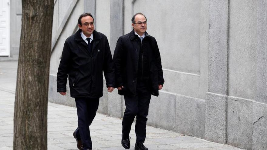 Defensa de Turull y Rull pide libertad provisional para ejercer de consellers