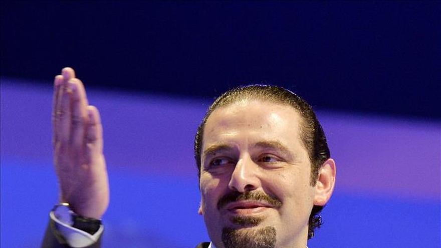 """Saad Hariri defiende preservar el """"sueño"""" de unidad árabe de su padre"""