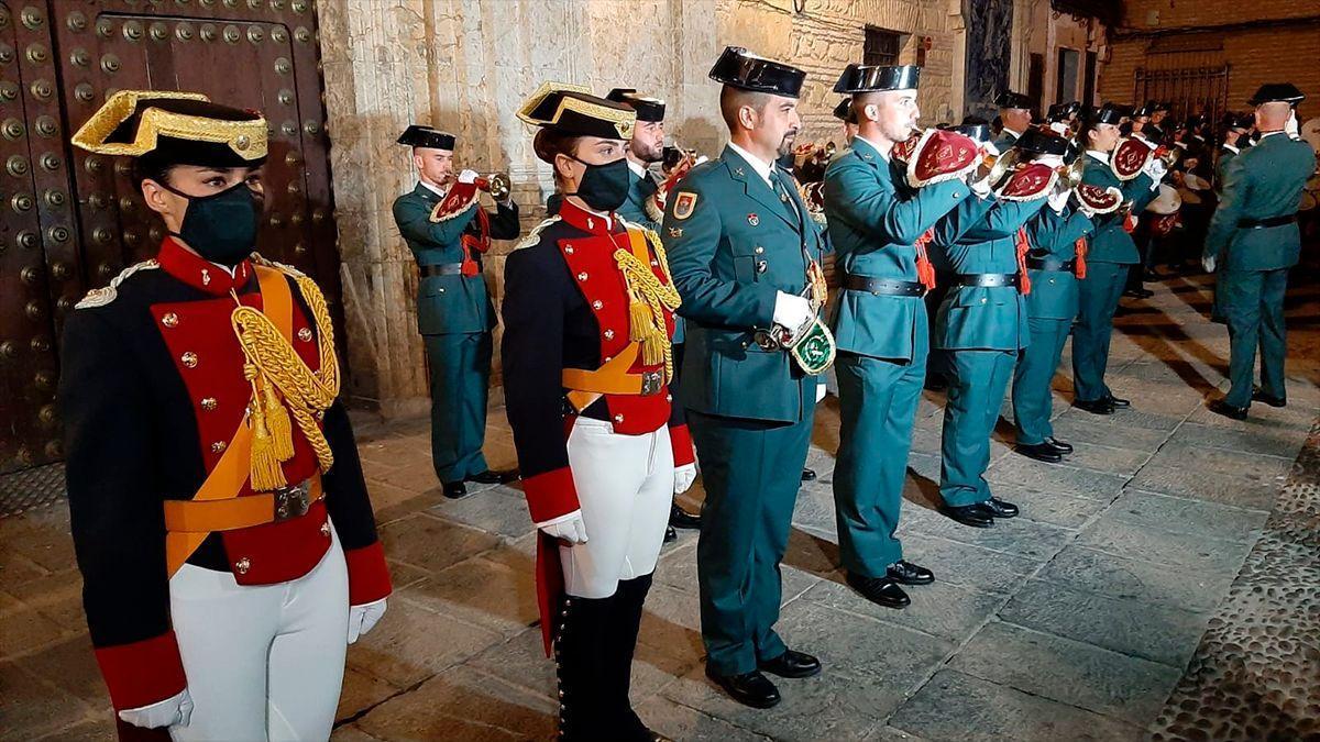 Retreta militar de la Guardia Civil en Córdoba