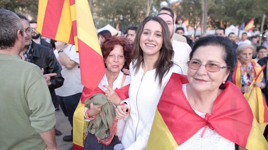 """Arrimadas (C's) dice que sólo participaría en un referéndum que fuera """"legal y tuviera validez"""""""