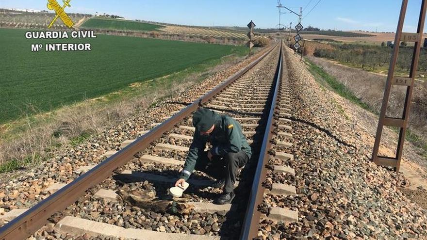 Identificado el acusado de matar animales atándolos a las vías del tren
