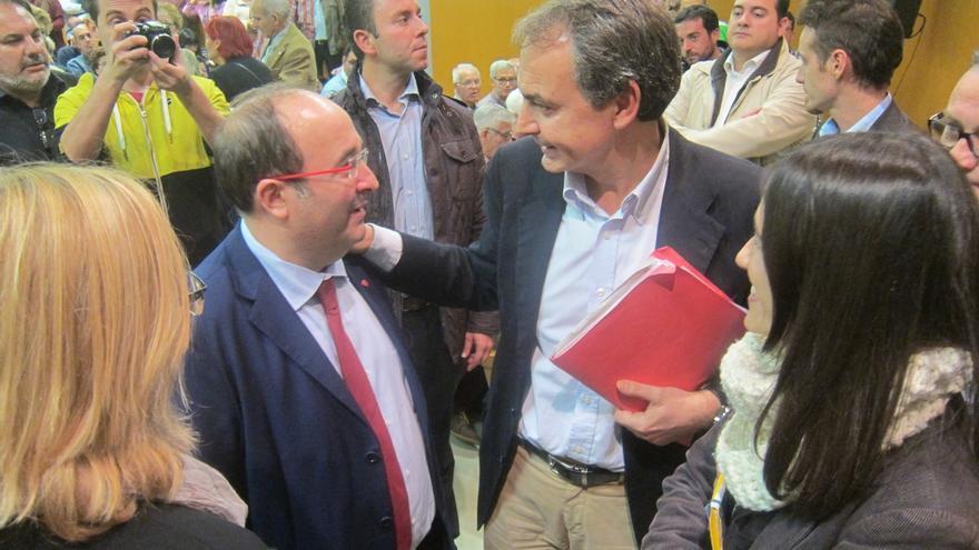 """Zapatero rechaza la vía escocesa para Cataluña: """"No creo en los referéndums"""""""