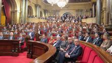 La declaración a favor del derecho a decidir se convierte en la primera gran prueba de fuego del nuevo Parlament