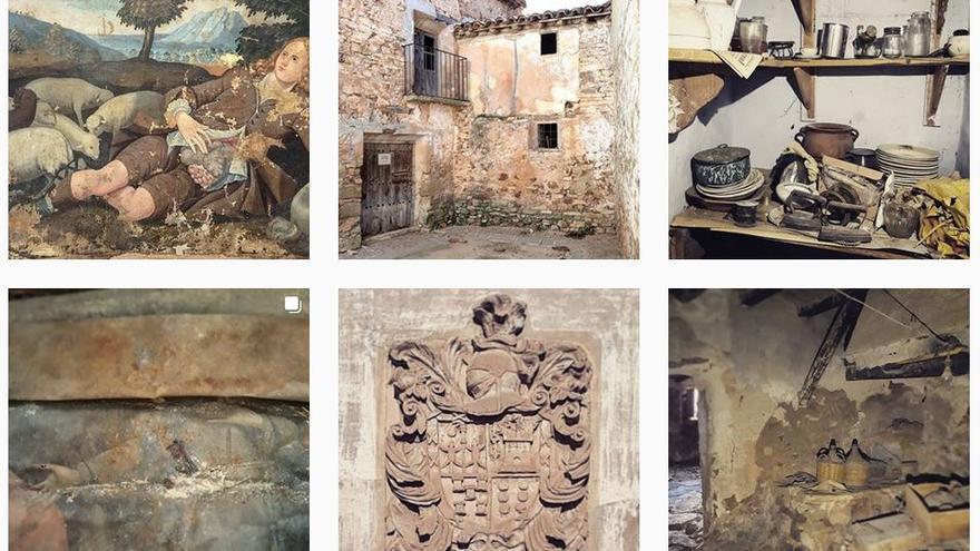 Mosaico de imágenes de la cuenta de Instagram @casadepueblo