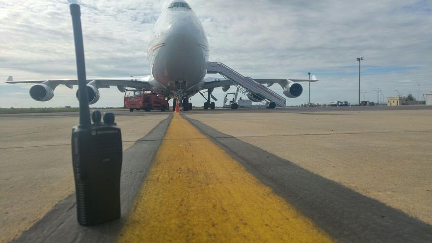 avión jeque emir Dubai Badajoz