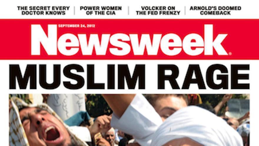 'Ira musulmana', portada de la revista Newsweek