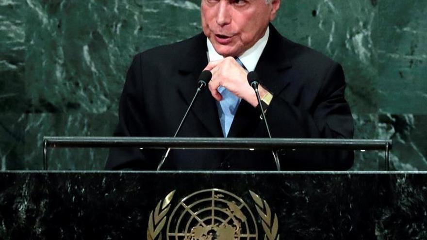 """Temer trae a la ONU un """"compromiso inquebrantable con la democracia"""""""