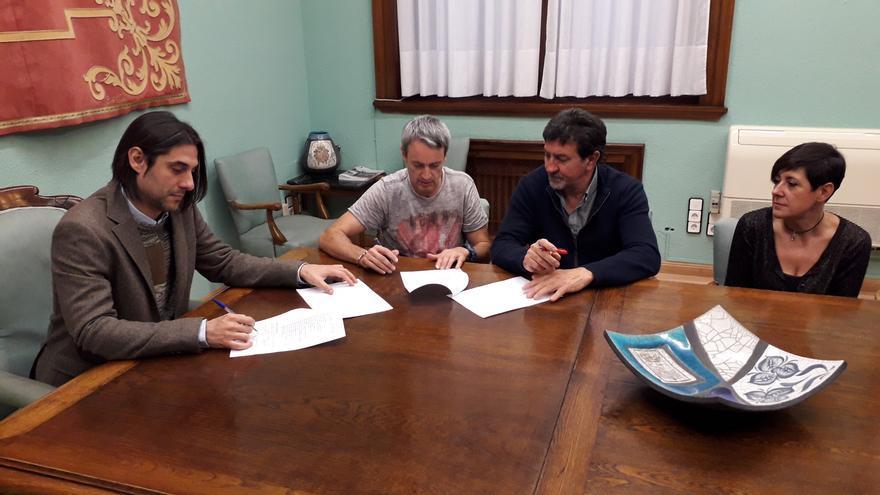 FSP-UGT y la DPZ firmaron las nuevas condiciones laborales de la plantilla