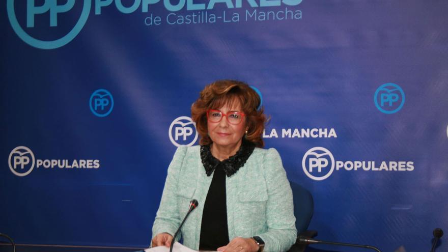 Carmen Riolobos, portavoz del PP de Castilla-La Mancha
