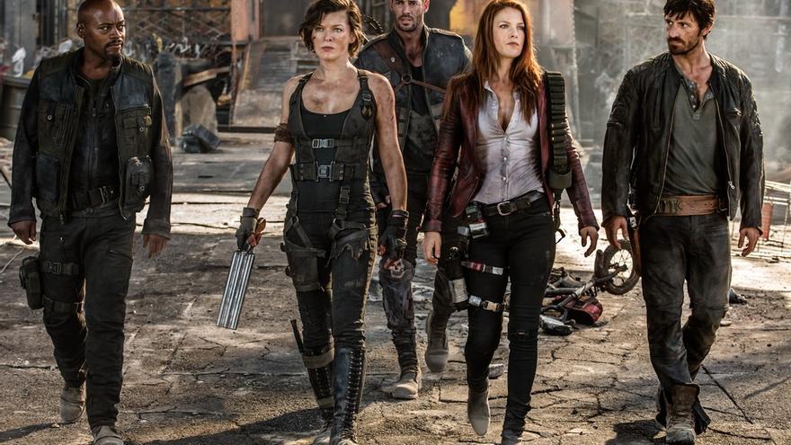 Milla Jovovich interpreta a Alice, líder de los resistentes en el apocalíptico futuro de 'Resident evil'