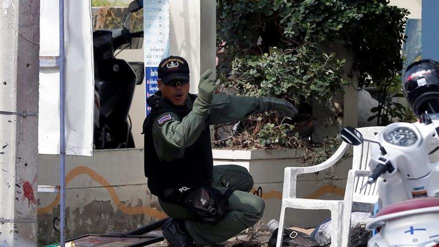 Tailandia detiene al primer sospechoso de la cadena de atentados en agosto