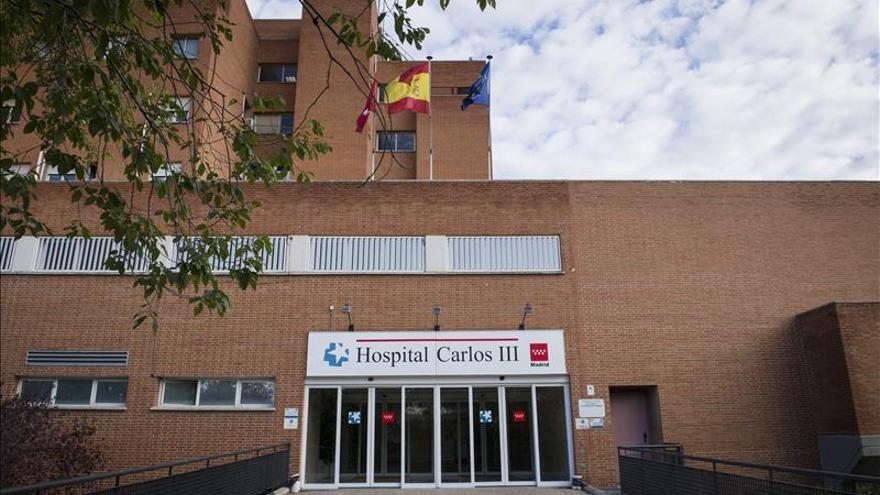 El hospital Carlos III de Madris, adonde han sido trasladados los dos infectados.