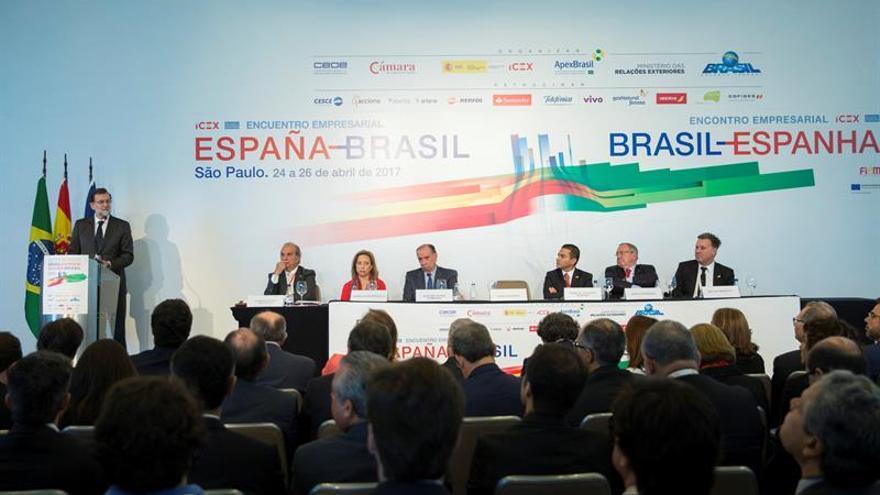 Rajoy explica en Brasil sus reformas económicas como receta del crecimiento