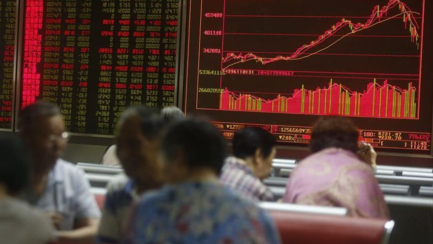 La Bolsa de Shanghái sube un 0,17 % en la apertura