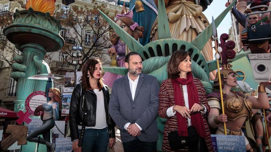 """Ábalos lamenta que el PP solo espere gobernar con """"nostálgicos franquistas"""""""