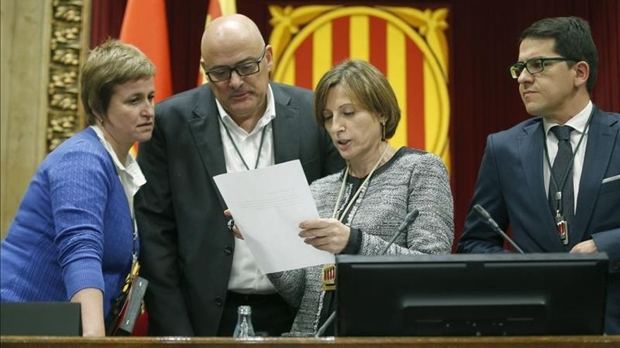 Forcadell convoca mañana Junta de Portavoces para acelerar el pleno soberanista