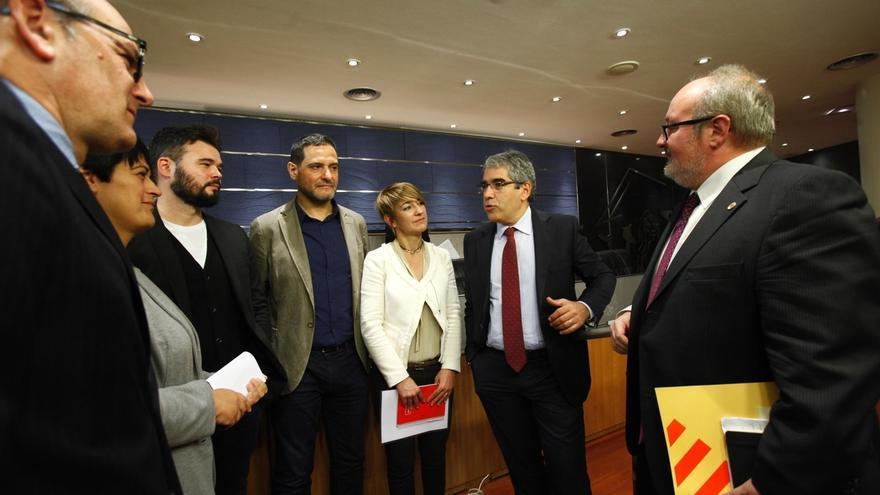 PNV y Bildu se solidarizan, junto a ERC y En Comú Podem, con Francecs Homs ante su inmediata inhabilitación