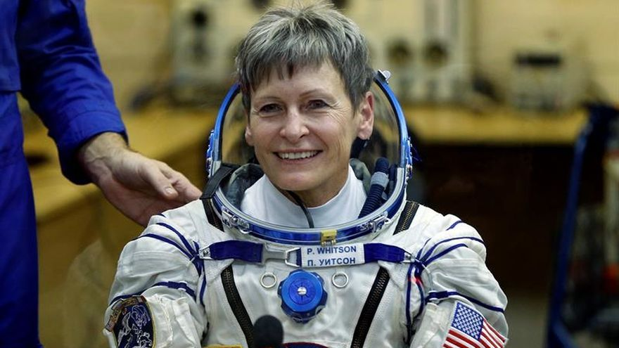 Peggy Whitson bate récord de tiempo en el espacio para un astronauta estadounidense